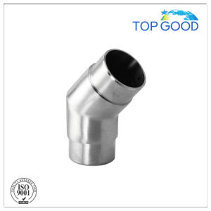 Stainless Steel 135 Degree Handrail Tube Fitting/Connector pictures & photos