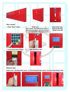 Cash Locker with Ce and ISO pictures & photos