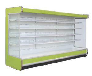 Supermarket Air Curtain Display Cabinet pictures & photos