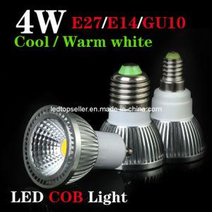 E27/E14/GU10 4W/6W Super Bright COB LED Spotlight (SD0128)