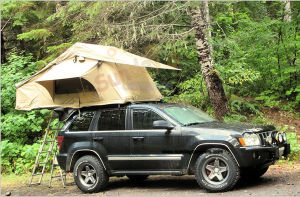 Popular Style Lightweight Roof Tent / Small Car Top Tents pictures & photos