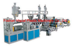 Plastic Extruder--PVC Sheet Extrusion Production Line