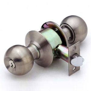 Stainless Steel Cylindrical Knob Locks (JM-587ET SS) pictures & photos