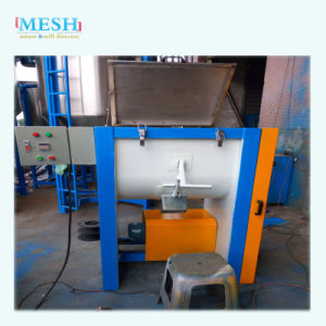 Horizontal Mixer Blender with Ribbon Stainless Steel Blade