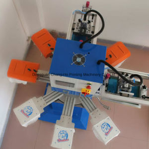 Rapid Silk Screen Printer for Baby′s Socks pictures & photos