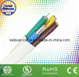 Coaxial Cable 4*RG6 Composite Cable pictures & photos