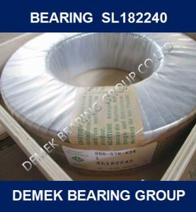 Full Complement Cylindrical Roller Bearing SL182240 pictures & photos