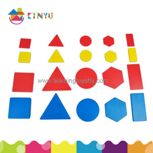 Educational Toy, Math Manipulatives Attribute Blocks or Logic Shapes pictures & photos