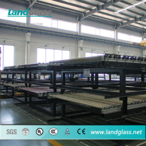Landglass Horizontal Flat Tempered Glass Machinery Price pictures & photos