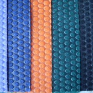 Circle DOT Fabric Laminated Fabric Adhesive-Bonded Fabric pictures & photos