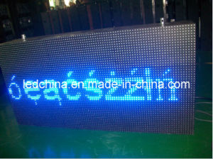 Waterproof Blue Color LED Moving Message Display Sign pictures & photos
