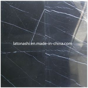 Black Nero Marquina Stone Marble for Tile, Slab, Countertop pictures & photos