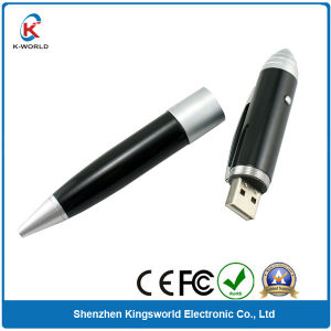 Metal Pen USB Flash Drive with LED Light (KW-0190)