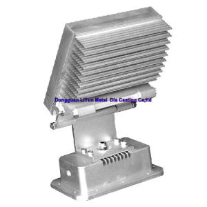 OEM & ODM Die Casting Parts for LED Street Lamp Housing with SGS, ISO9001: 2008, RoHS pictures & photos