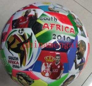 Star Player PU TPU Soccer Ball pictures & photos