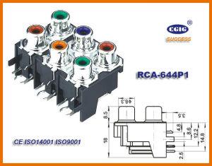 Rca / 6pin Jack (RCA-644P1)