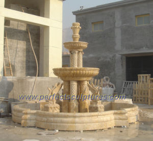Carving Stone Marble Water Pool Fountain for Garden (SY-F236) pictures & photos