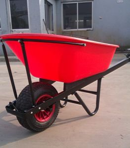 Plastic Big Tray for Wheelbarrow/Wheel Barrow (WB8614) pictures & photos