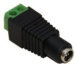 Female DC Power plug connector adaptor