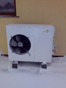 Air Source Heat Pump With Heating &Hot Water (PW040-KFXLR)
