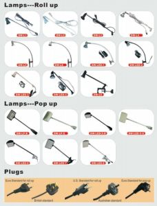 Spotlight for Display Stand (Lamps for Roll Up) pictures & photos