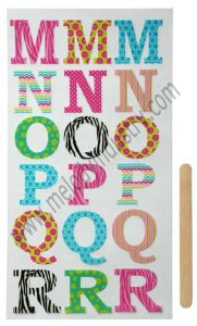 Unique Rub-Ons Sticker for Scrapbooking & DIY Projects pictures & photos