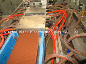 PE/PP Wood Plastic Profile Making Machine pictures & photos