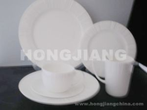 Bone China Dinner Set (HJ068007) pictures & photos