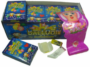 Balloon With Tattoo Bubble Gum (CWS2558)