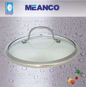 Glass Lid, Wide Ring, Tempered Glass Lid pictures & photos