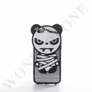 Hot Selling Cartoon 3 in 1 PC+ TPU+Silicone Case for iPhone 6/6plus pictures & photos