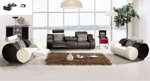 Hot Sell Furniture Modern Design Living Room Leather Sectional Sofa (L050) pictures & photos