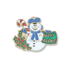 OEM Metal Brooch for Christmas Gift pictures & photos