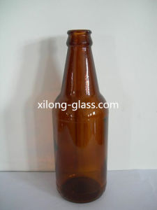 High Quality 330ml Amber Glass Beer Bottle