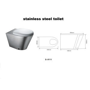 Stainless Steel Toilet pictures & photos