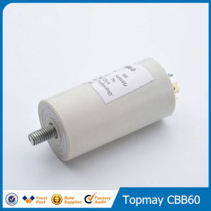 Metallized Polypropylene Film Capacitor for AC Cbb60 35UF 450VAC pictures & photos