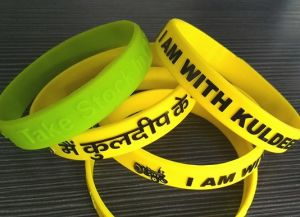 15mm Width Silicon Wriststrap (OM-S103) pictures & photos