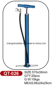 Strong Quality Bike Pump Qt-026 with Traditional Design pictures & photos