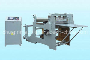 Full Automatic Electric Fabric Roll Cutter Machine (CQ-800) pictures & photos