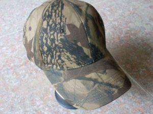 Six Panels Camouflage Cap (HXH001)