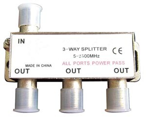 CATV Connector / Splitter (Mini Type) pictures & photos