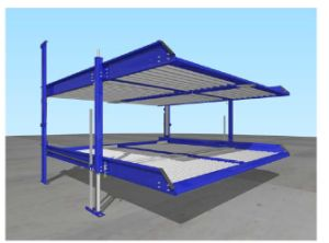 Newest Hydraulic Car Parking System pictures & photos