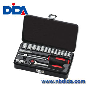 Hand Tool Socket Set in Iron Case (DIDA0T001)