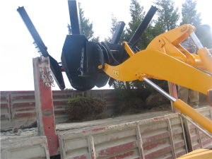 China High Quality Tree Transplanter Tree Spade for Wheel Loader pictures & photos