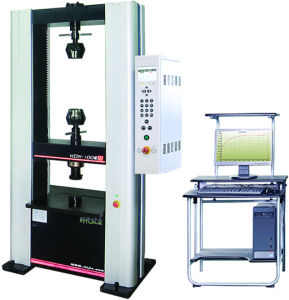 Double controlled Electronic Universal Testing Machine WDW-100E pictures & photos