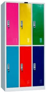 6 Door Steel Locker (JH09-052)