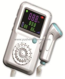 Hot Medical Instrument Ultrasounic Fetal Doppler with Ce Approved pictures & photos