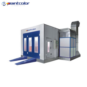 Environment Friendly IR Heating System Paint Booth (PC14-E100) pictures & photos