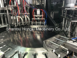 Tomato Sauce Ketchup Filling and Capping Machine for Soft Spout Packaging pictures & photos