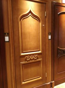 Middle East Style Wood Door with Carving pictures & photos